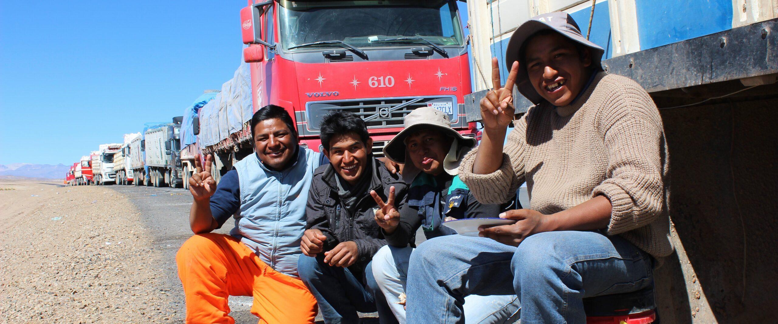 24 – Strassenblockade in Bolivien